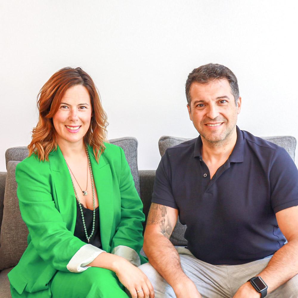 Cátia Fonseca e Adriano Almeida