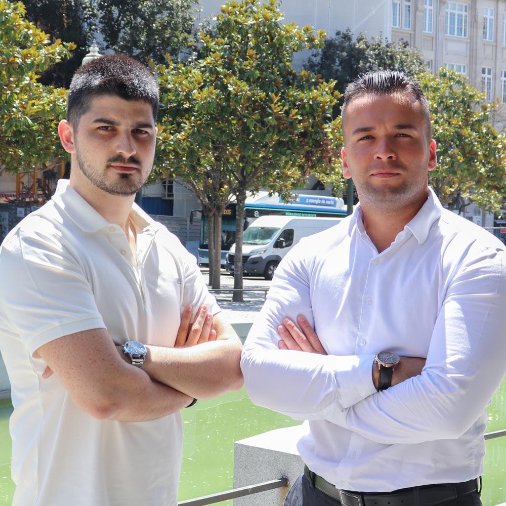 Pedro Teixeira e Tiago Costa