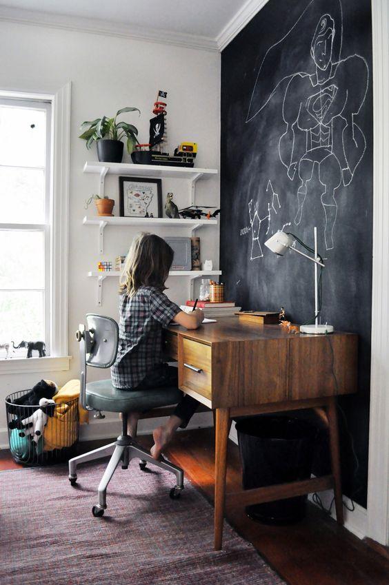 Regresso às Aulas - Ideias para zona de estudo